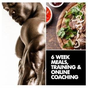 6 Week Men's Custom Meal, Training + Coaching
