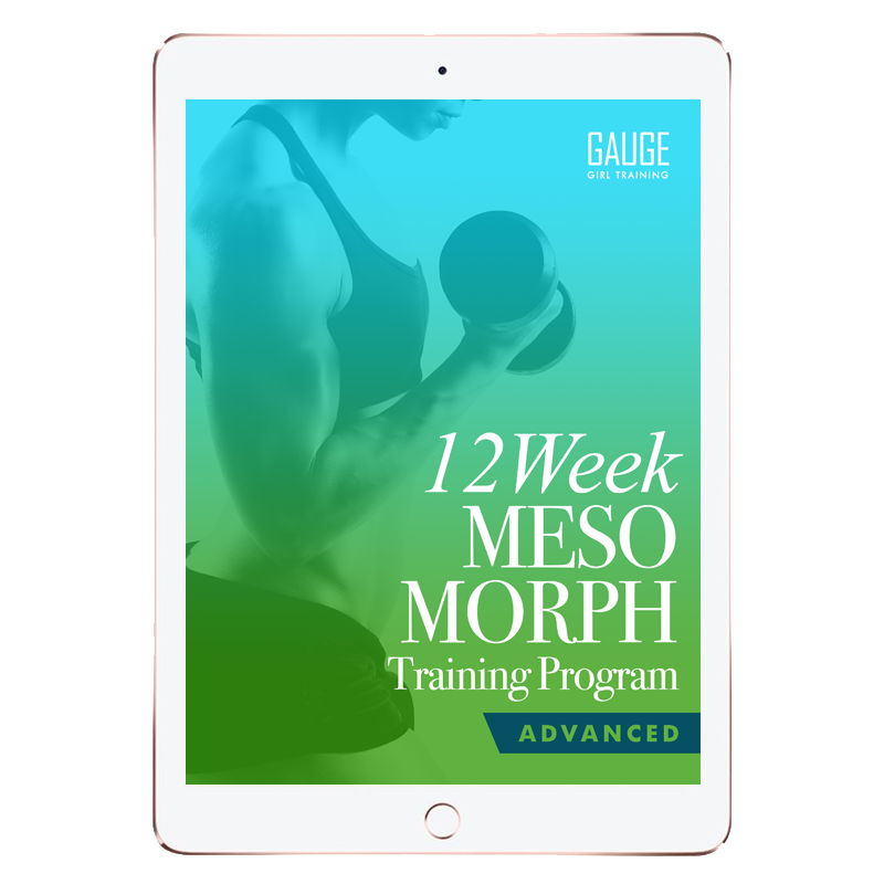 12 Week Mesomorph Advanced Gym Training Plan
