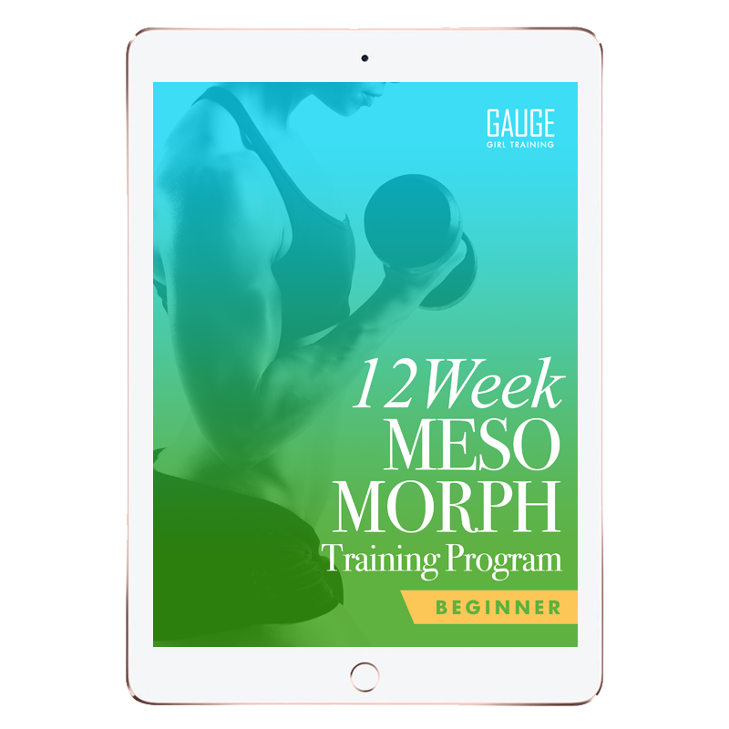 12 Week Mesomorph Gym Training Plan