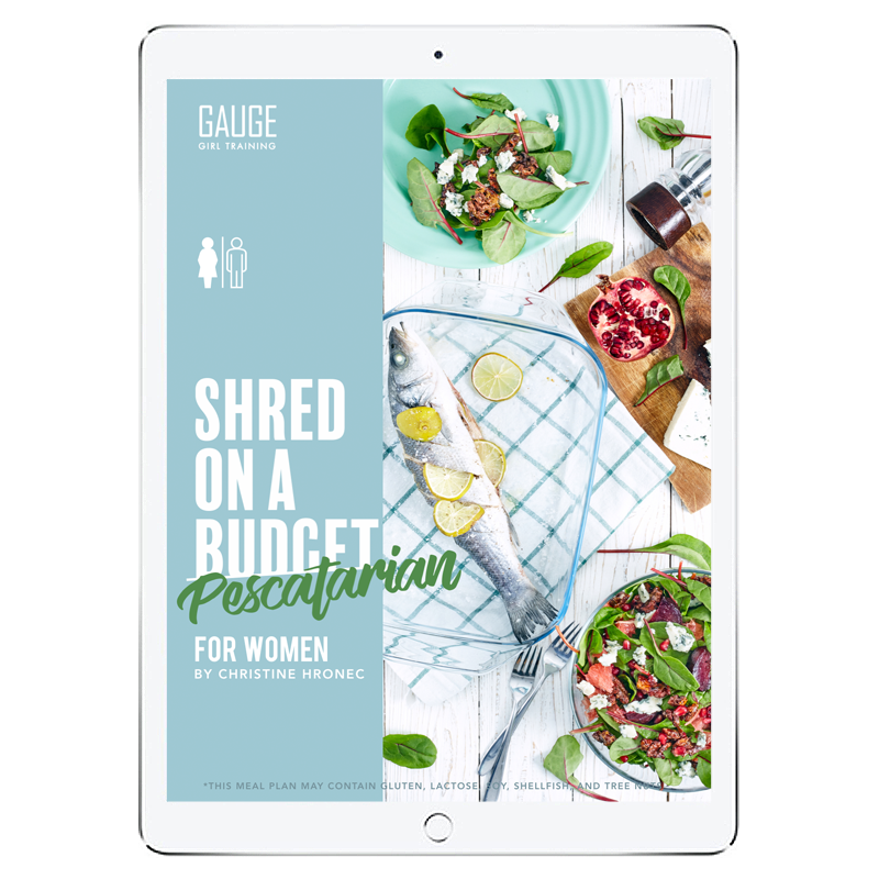 The 6WeekShred™ - 6 Week Pescatarian Budget Shred for Women