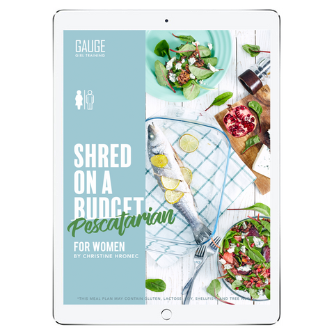The 6WeekShred™ - 6 Week Budget Vegan Shred for Men