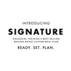 SIGNATURE New Custom Meal Plan