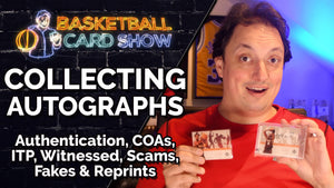 Collecting & Authenticating Autographs - COAs, Scams, ITP, Witnessed, Fakes & Reprints