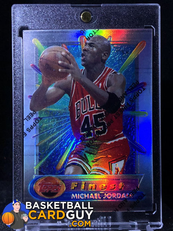 1994-95 Finest Refractors #331 Michael Jordan - Basketball Cards