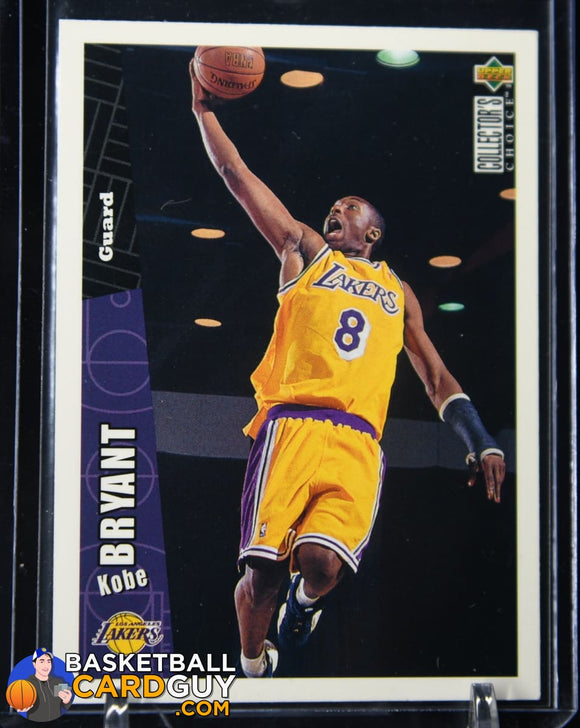 1996-97 Collector's Choice #267 Kobe Bryant RC basketball card, rookie card