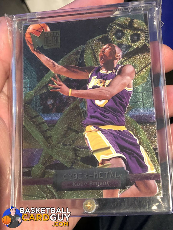 1996-97 Metal Cyber-Metal #5 Kobe Bryant - Basketball Cards