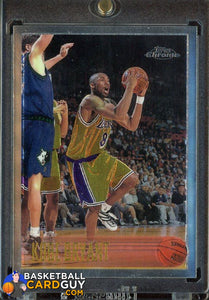 1996-97 Topps Chrome #138 Kobe Bryant RC (WELL CENTERED, GREAT COLOR) - Basketball Cards