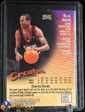 1997-98 Finest #320 Allen Iverson GOLD basketball card, refractor