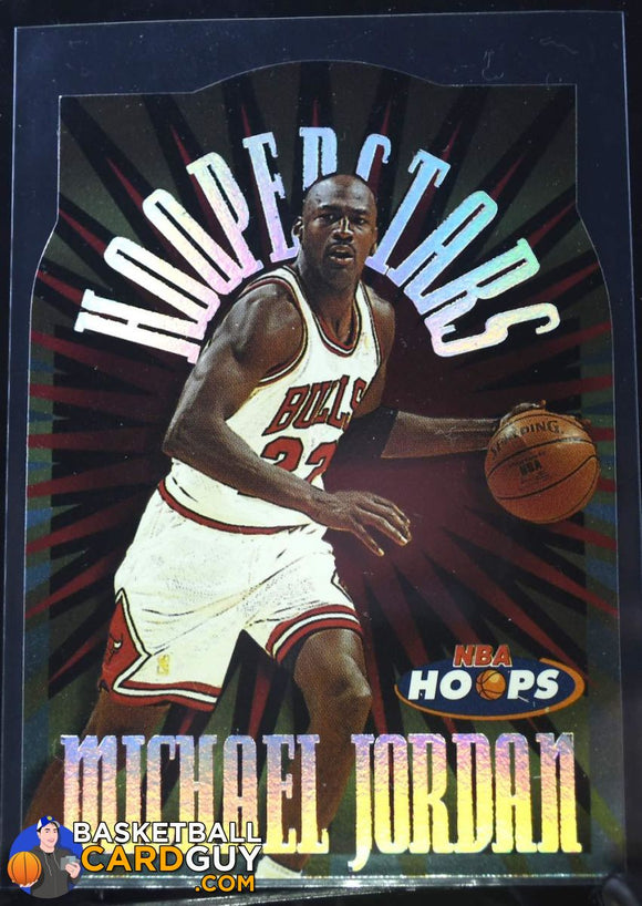 1997-98 Hoops HOOPerstars #H1 Michael Jordan - Basketball Cards