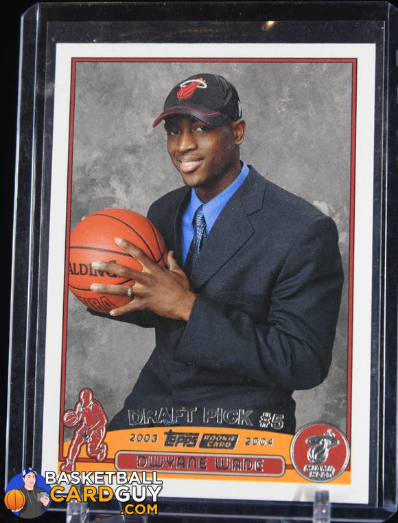 2003-04 Topps #225 Dwyane Wade RC - Basketball Cards