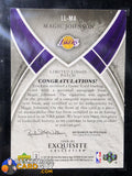 2006-07 Exquisite Limited Logos Magic Johnson - Basketball Cards