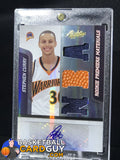 2009-10 Absolute Memorabilia #144 Stephen Curry JSY AU/499 RC - Basketball Cards