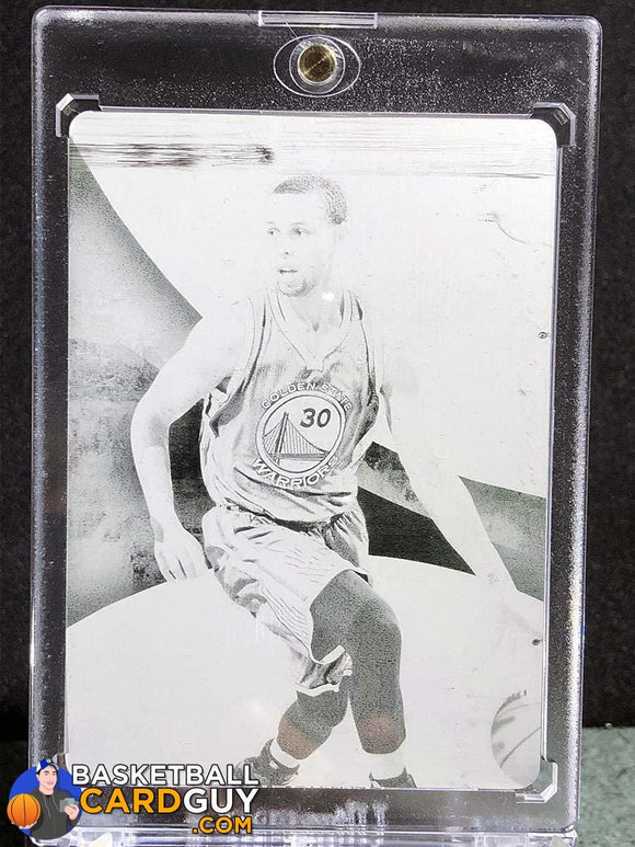 2013-14 Immaculate Stephen Curry Printing Plate Black 1 of 1 - Basketball Cards