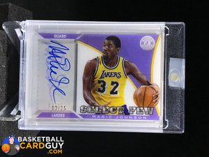 2013-14 Totally Certified Select Few Magic Johnson /25 - Basketball Cards