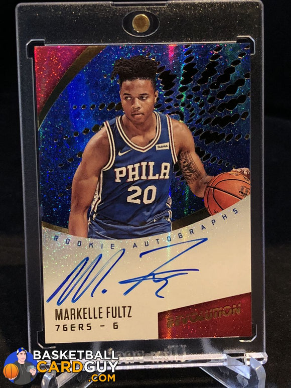 2017-18 Panini Revolution Rookie Autographs #1 Markelle Fultz - Basketball Cards