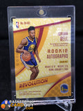 2017-18 Panini Revolution Rookie Autographs #5 Jordan Bell - Basketball Cards