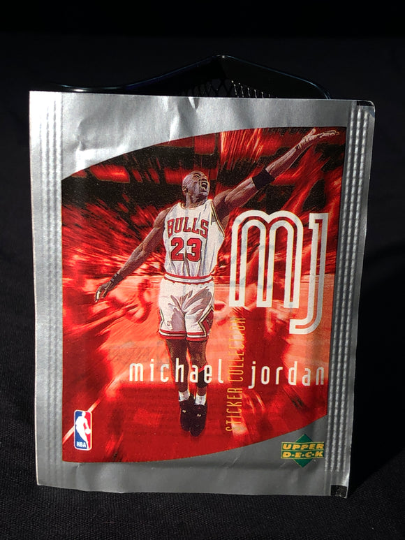 Michael Jordan Upper Deck Sticker Pack - Basketball Cards