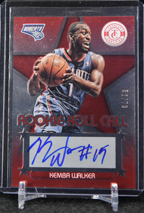 Kemba Walker 2012-13 Totally Certified Rookie Roll Call Autographs Red #/79 - Basketball Cards
