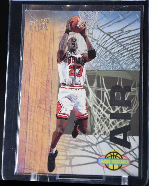 Michael Jordan 1993-94 Ultra Famous Nicknames #7 - Basketball Cards