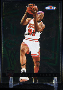 Dennis Rodman 1997-98 Hoops Chairman of the Boards #CB3 - Basketball Cards