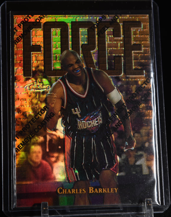 Charles Barkley 1997-98 Finest Refractors GOLD #/289