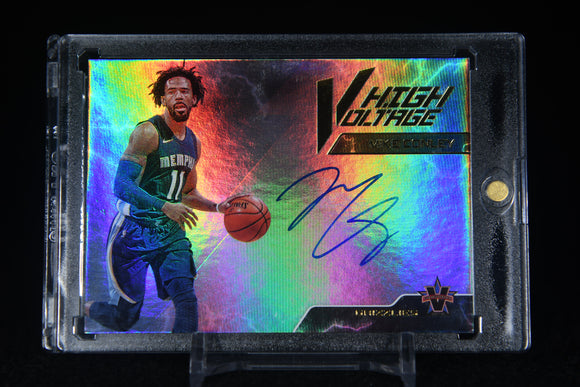 Mike Conley 2017-18 Panini Vanguard High Voltage Signatures #/49