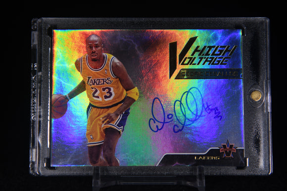 Cedric Ceballos 2017-18 Panini Vanguard High Voltage Signatures #/99
