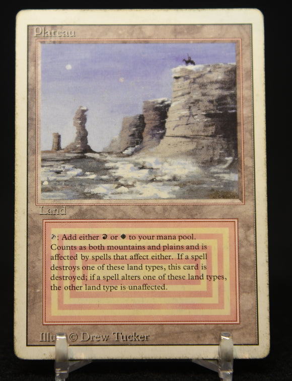 Plateau Dual Land 1994 Magic The Gathering Revised Edition #284 R