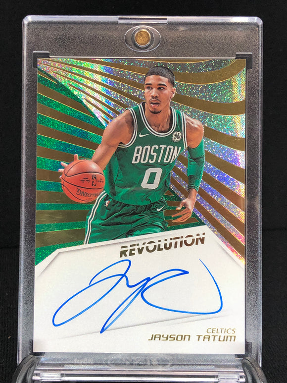 Jayson Tatum 2018-19 Panini Revolution Autographs - Basketball Cards