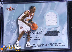 Allen Iverson 2000-01 Fleer Feel the Game #11B (White) - Basketball Cards