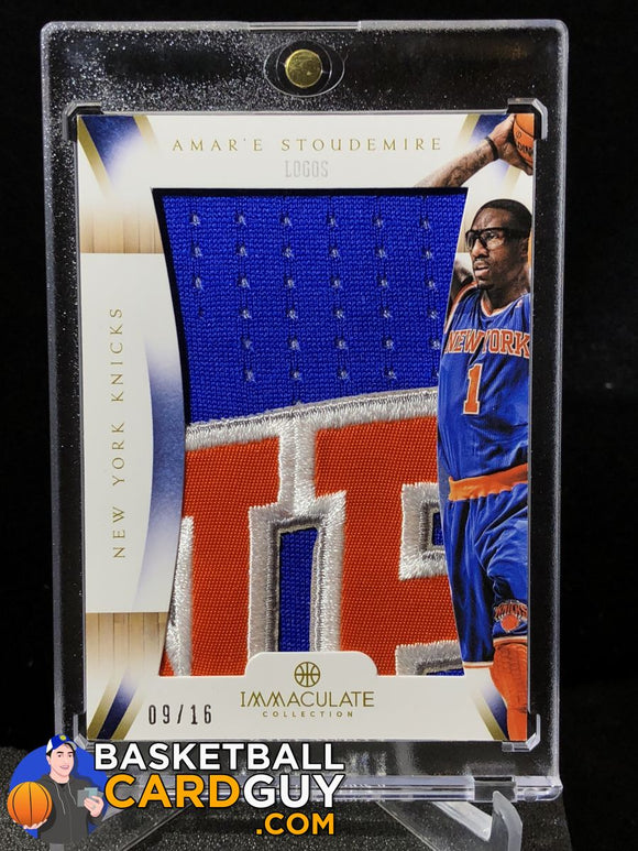 Amare Stoudemire IMMACULATE Logos /16 - Basketball Cards