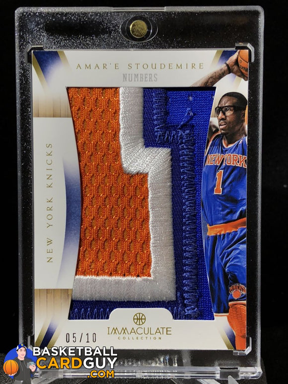 Amare Stoudemire Immaculate Numbers /10 - Basketball Cards