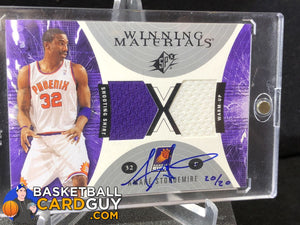 Amar'e Stoudemire Winning Materials Autograph Buyback /20 - Basketball Cards