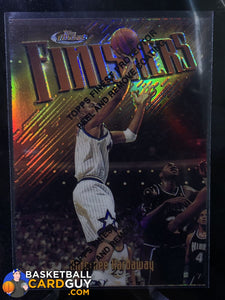 Anfernee Hardaway 1997-98 Topps Finest Test Refractor GOLD /289 - Basketball Cards