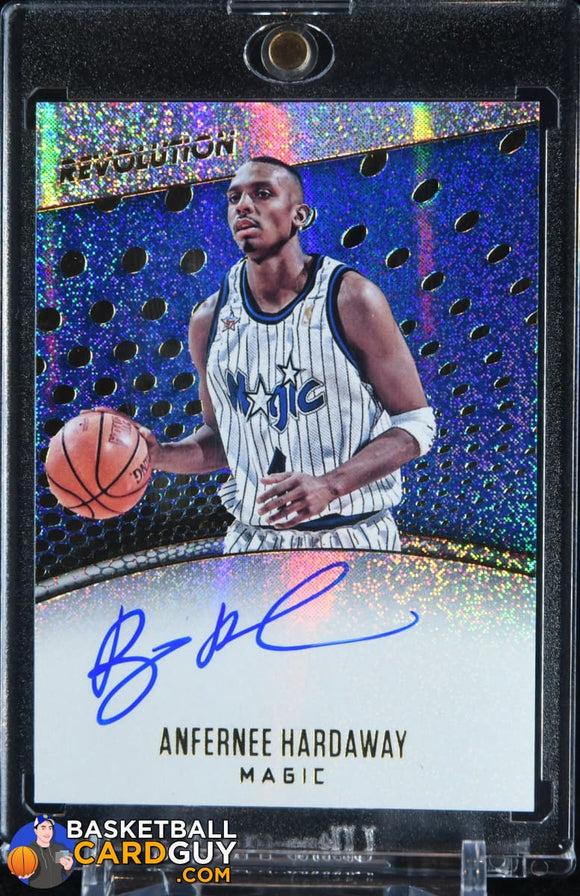 Anfernee Hardaway 2017-18 Panini Revolution Autographs #19 - Basketball Cards