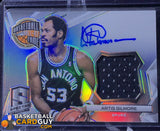 Artis Gilmore 2014-15 Panini Spectra Hall of Fame Autograph Materials #/35 - Basketball Cards