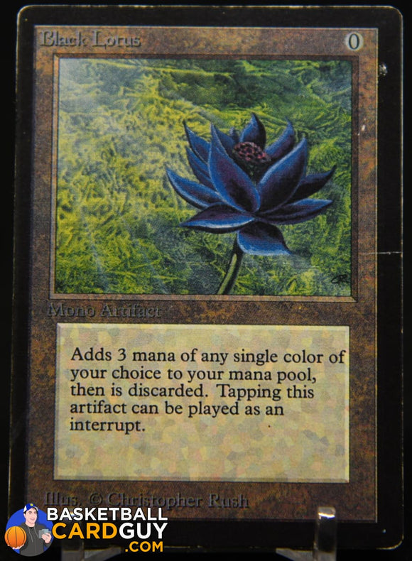Black Lotus 1993 Magic The Gathering Beta #233 R magic the gathering