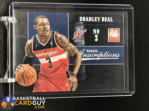 Bradley Beal 2012-13 Elite Rookie Inscriptions #88 RC - Basketball Cards