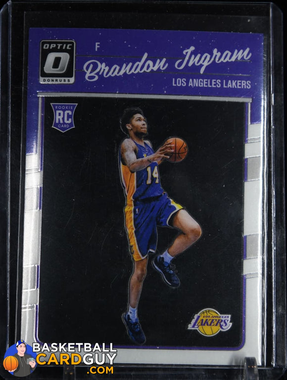 Brandon Ingram 2016-17 Donruss Optic #152 RC basketball card, rookie card