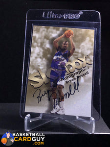 Bryon Russell 1998-99 Skybox Premium Autographics - Basketball Cards