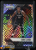 Caris LeVert 2016-17 Panini Prizm Prizms Starburst Checkerboard #165 RC basketball card, rookie card