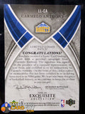 Carmelo Anthony 2006-07 Exquisite Collection Limited Logos - Basketball Cards