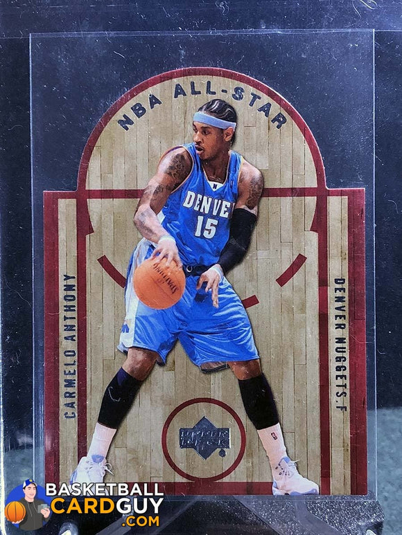 Carmelo Anthony 2007-08 Upper Deck All-Star Die Cuts - Basketball Cards
