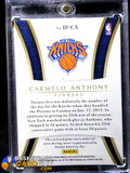 Carmelo Anthony 2012-13 Immaculate Collection Logos #/21 - Basketball Cards