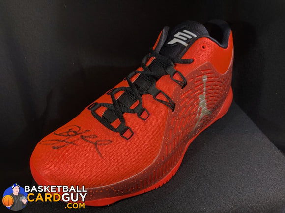 Chris Paul Autographed Red CP3.X Jordan Shoe (Steiner COA) - Basketball Cards