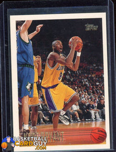 Kobe Bryant 1996-97 Topps #138 RC (#4) - Basketball Cards