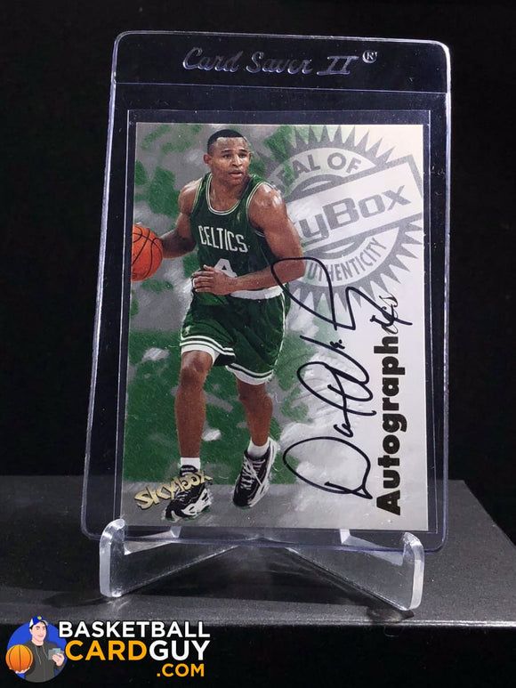 David Wesley 1997-98 Skybox Premium Autographics - Basketball Cards