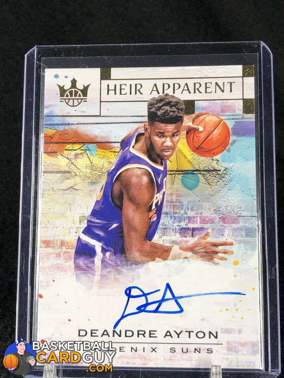 Deandre Ayton 2018-19 Court Kings Heir Apparent Autographs #/199 - Basketball Cards
