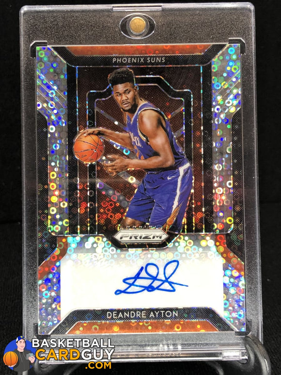 Deandre Ayton 2018-19 Panini Prizm Fast Break Rookie Autographs (#1) - Basketball Cards