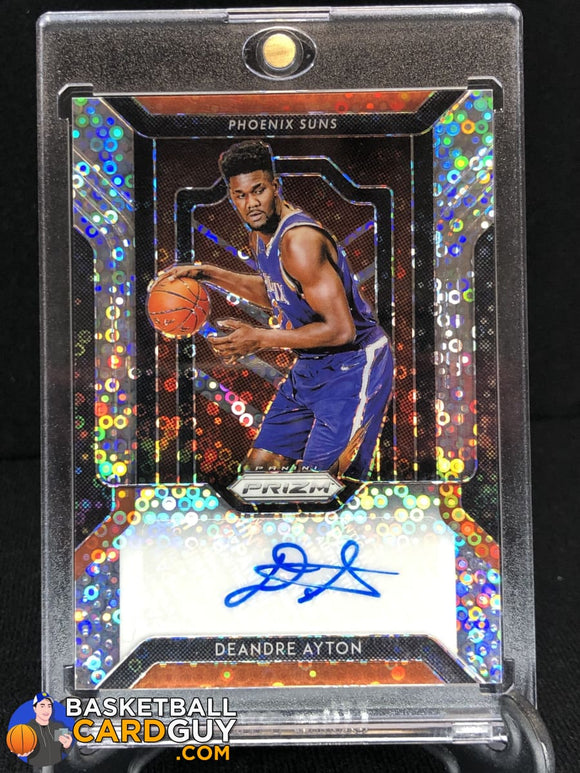 Deandre Ayton 2018-19 Panini Prizm Fast Break Rookie Autographs (#2) - Basketball Cards